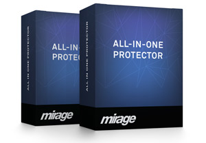 A bundle of several All-In-One Protector products